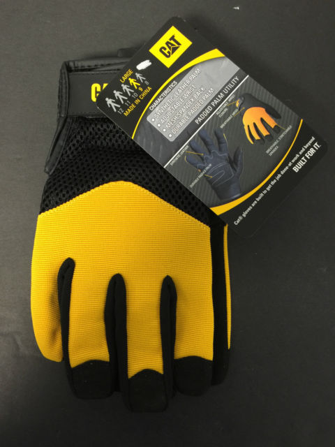LARGE PADDED PALM UTILITY GLOVES