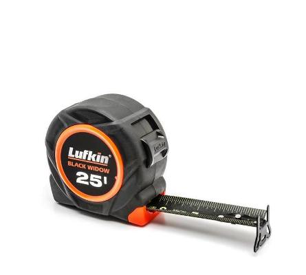 Lufkin Black Widow 25' Tape L1025B