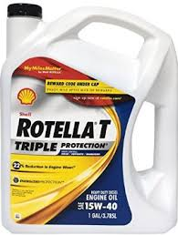 Shell 15W40 Rotella Motor Oil Gallon